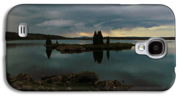 Galaxy S4 Case featuring the photograph Island In The Storm by Karen Shackles