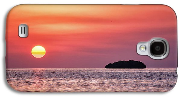 Island Sunset Galaxy S4 Case