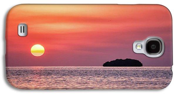 Island Sunset Galaxy S4 Case