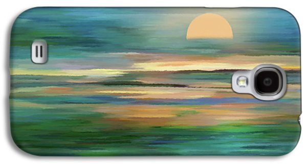 Islands In The Sunset Abstract Realism Galaxy S4 Case