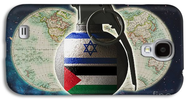 Israel And Palestine Conflict Galaxy S4 Case