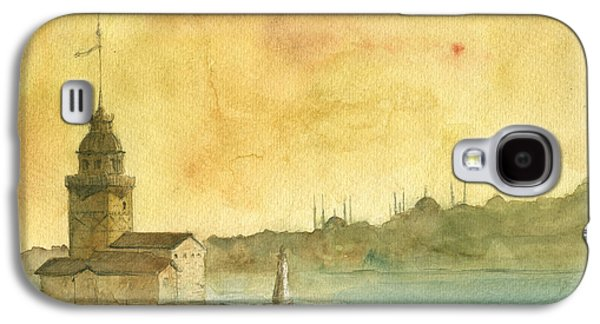 Istanbul Maiden Tower Galaxy S4 Case by Juan Bosco