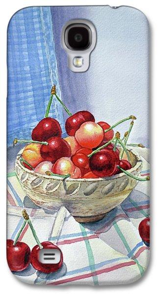 It Is Raining Cherries Galaxy S4 Case by Irina Sztukowski