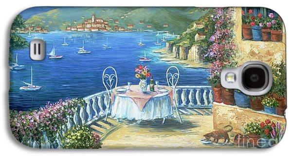 Italian Lunch On The Terrace Galaxy S4 Case