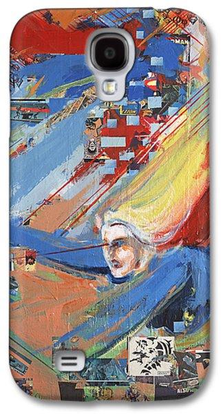It's A Galaxy S4 Case by David Leblanc