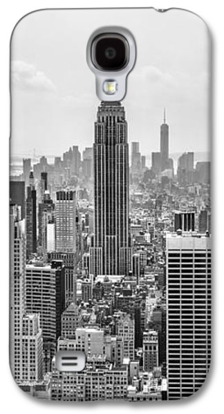 Empire State Building Galaxy S4 Case - It's A Jungle Out There by Az Jackson