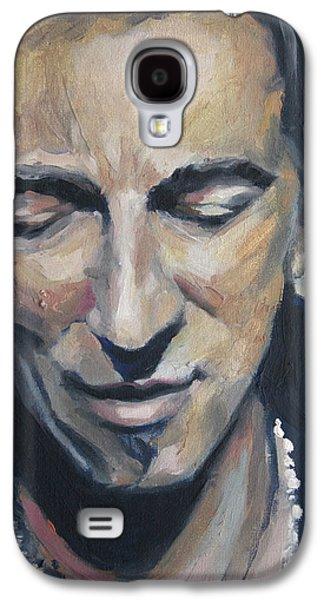 Bruce Springsteen Galaxy S4 Case - It's Boss Time II - Bruce Springsteen Portrait by Khairzul MG