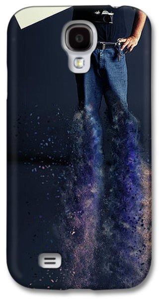 J U S T I C E Galaxy S4 Case by Nichola Denny