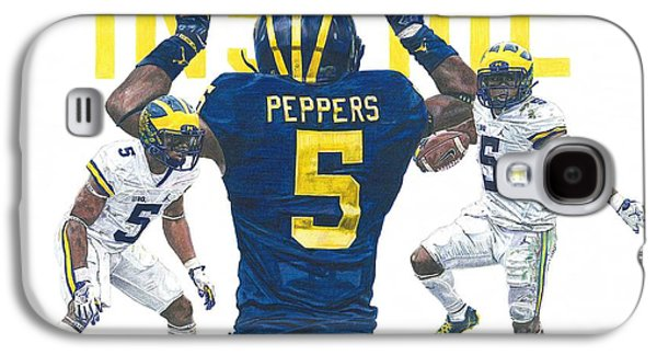 Jabrill Peppers Galaxy S4 Case