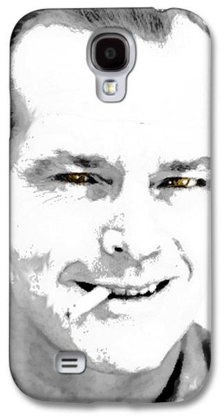 Jack B N W  Galaxy S4 Case by Enki Art