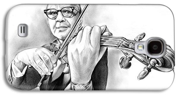 Violin Galaxy S4 Case - Jack Benny by Greg Joens