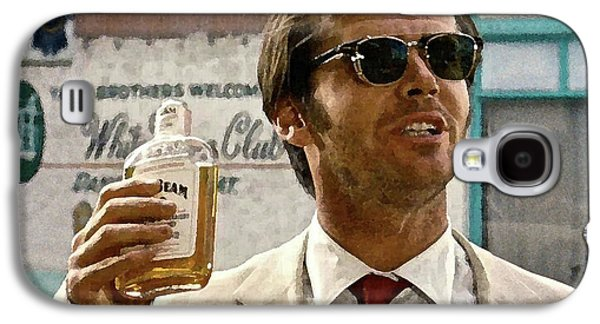 Jack Nicholson, Here's To First Of The Day Fellas, And To Ol D. H. Lawrence . ' Galaxy S4 Case by Thomas Pollart