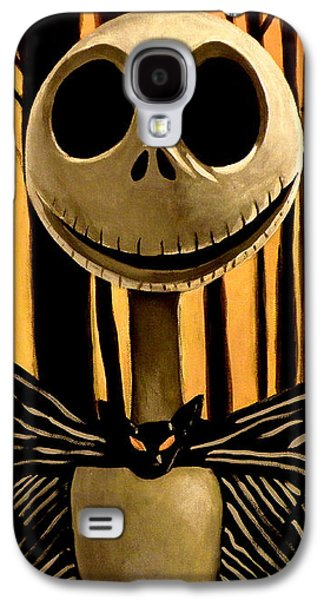 Jack Skelington Galaxy S4 Case by Tom Carlton