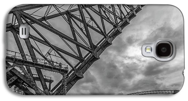 Jackknife Bridge To The Clouds B And W Galaxy S4 Case