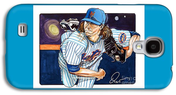 Jacob Degrom Of The New York Mets Galaxy S4 Case