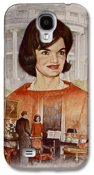 Jacqueline Kennedy Onassis  Galaxy S4 Case by Cliff Spohn