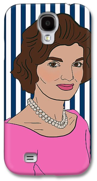 Jacqueline Kennedy Onassis Galaxy S4 Case by Nicole Wilson