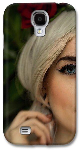 Jade Close Crop Galaxy S4 Case