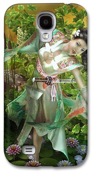 Jade Galaxy S4 Case by Mary Hood