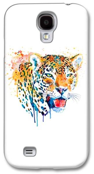 Jaguar Head Galaxy S4 Case by Marian Voicu