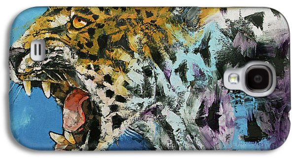 Jaguar Galaxy S4 Case by Michael Creese