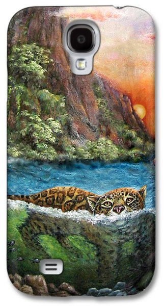 Jaguar Sunset  Galaxy S4 Case