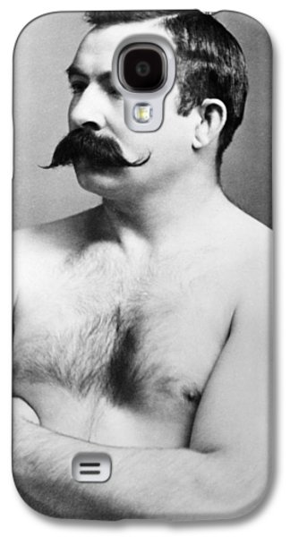 Boxer Galaxy S4 Cases - Jake Kilrain (1859-1937) Galaxy S4 Case by Granger