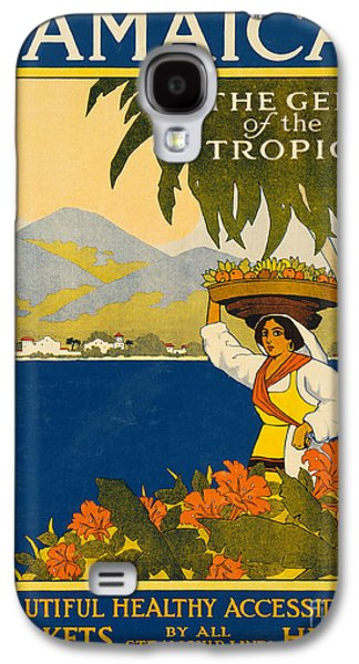 Jamaica  Vintage Travel Poster Galaxy S4 Case
