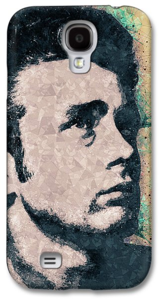 James Dean Portrait Galaxy S4 Case
