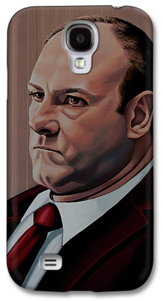James Gandolfini Painting Galaxy S4 Case