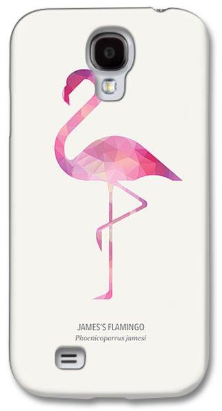 James's Flamingo Galaxy S4 Case