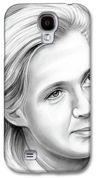 Ape Galaxy S4 Case - Jane Goodall by Greg Joens