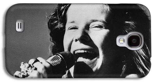 Janis Joplin (1943-1970) Galaxy S4 Case by Granger