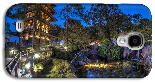 Japan Epcot Pavilion By Night. Galaxy S4 Case