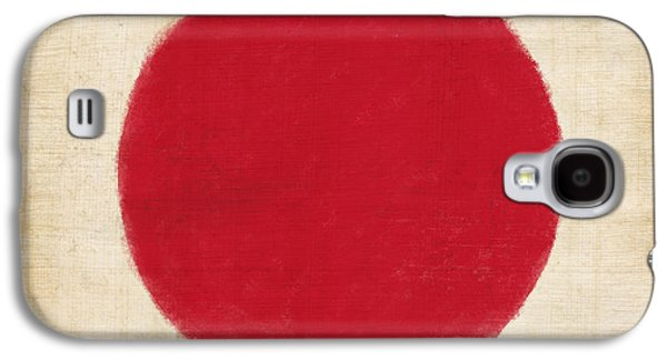 Japan Flag Galaxy S4 Case by Setsiri Silapasuwanchai
