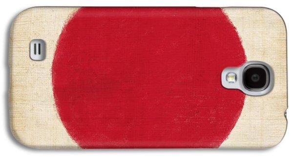 Flag Galaxy S4 Cases - Japan flag Galaxy S4 Case by Setsiri Silapasuwanchai