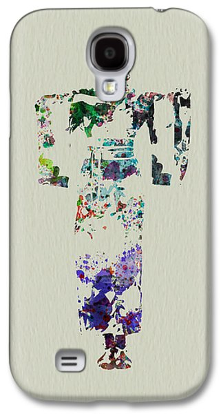 Singing Paintings Galaxy S4 Cases - Japanese dance Galaxy S4 Case by Naxart Studio