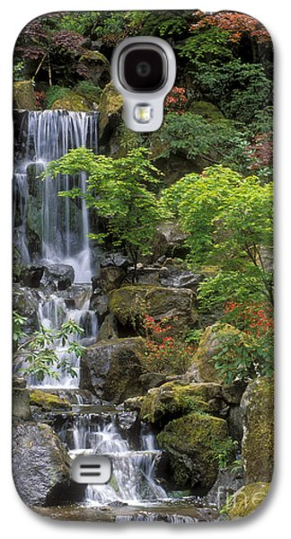 Japanese Garden Waterfall Galaxy S4 Case by Sandra Bronstein