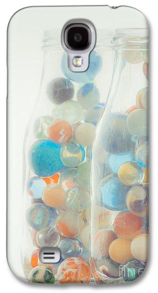 Jars Full Of Marbles Galaxy S4 Case by Edward Fielding