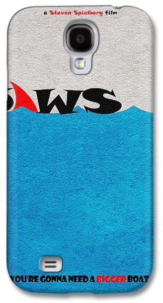 Jaws Galaxy S4 Case by Ayse Deniz
