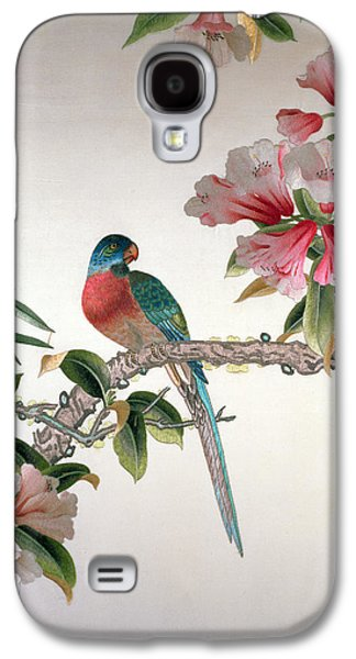 Jay On A Flowering Branch Galaxy S4 Case by Chinese School