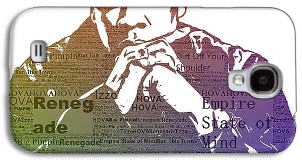 Jay Z Typography Galaxy S4 Case