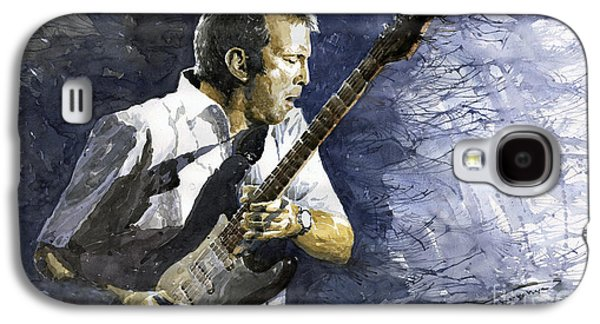 Jazz Eric Clapton 1 Galaxy S4 Case by Yuriy  Shevchuk
