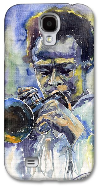Jazz Miles Davis 12 Galaxy S4 Case by Yuriy  Shevchuk