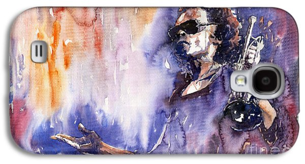 Jazz Miles Davis 14 Galaxy S4 Case by Yuriy  Shevchuk