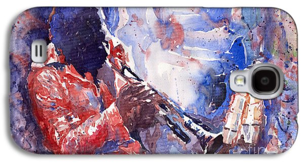 Jazz Miles Davis 15 Galaxy S4 Case by Yuriy  Shevchuk