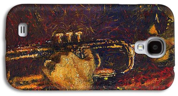 Jazz Miles Davis  Galaxy S4 Case by Yuriy  Shevchuk