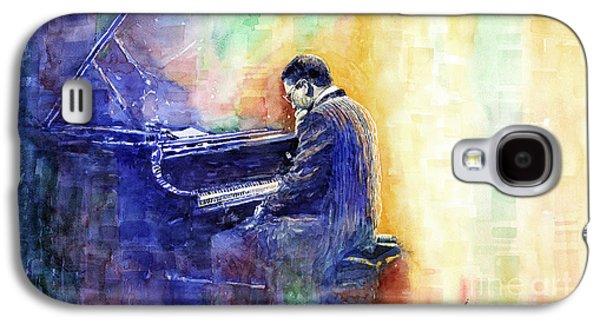 Jazz Pianist Herbie Hancock  Galaxy S4 Case by Yuriy Shevchuk
