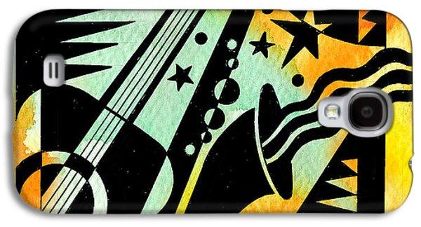 Jazz Relaxation Galaxy S4 Case by Leon Zernitsky