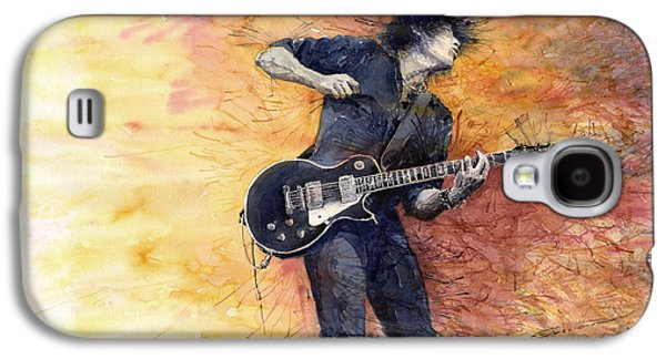 Guitar Galaxy S4 Case - Jazz Rock Guitarist Stone Temple Pilots by Yuriy Shevchuk